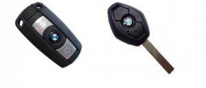BMW remote keys
